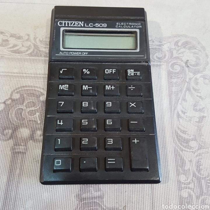CALCULADORA CITIZEN LC-509 (Antigüedades - Técnicas - Aparatos de Cálculo - Calculadoras Antiguas)