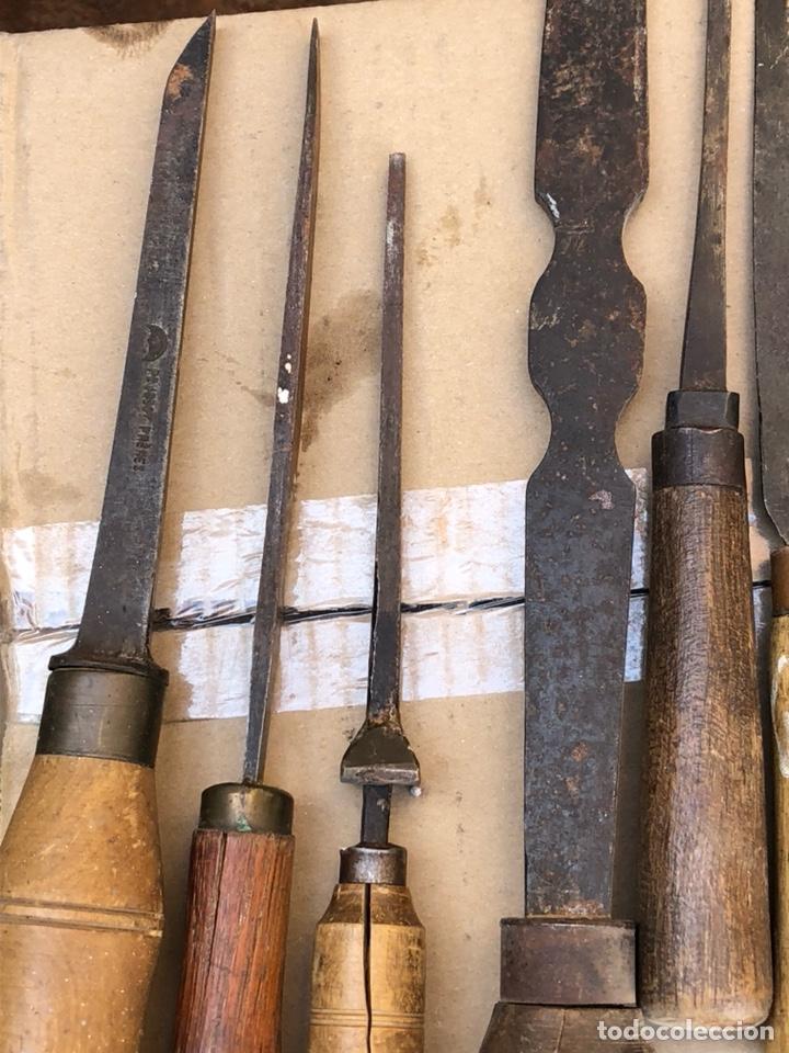 Antigüedades: Lote de herramientas antiguas - Foto 3 - 211956100