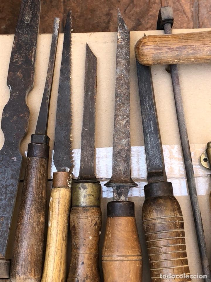 Antigüedades: Lote de herramientas antiguas - Foto 5 - 211956100