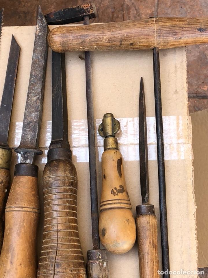 Antigüedades: Lote de herramientas antiguas - Foto 7 - 211956100