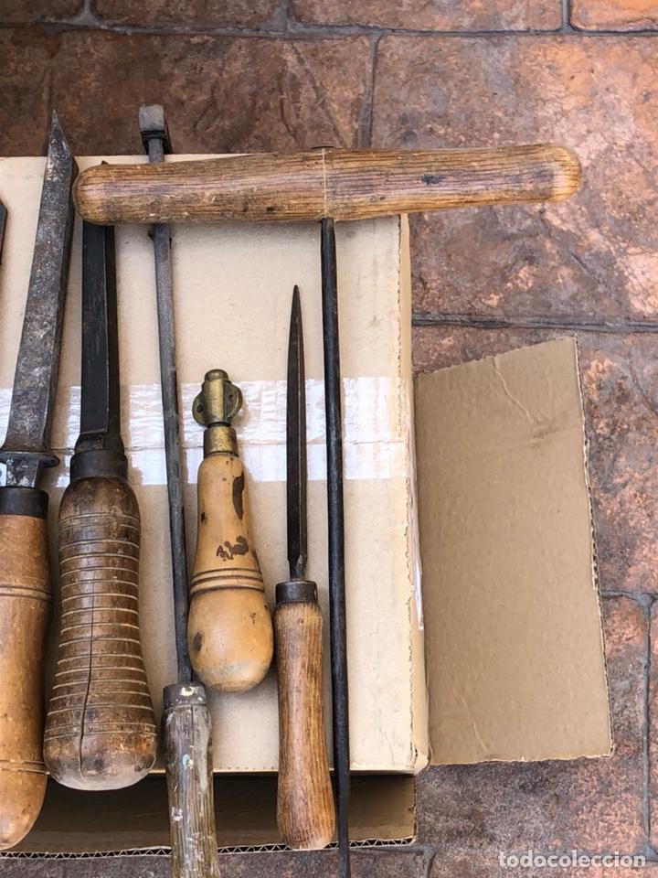 Antigüedades: Lote de herramientas antiguas - Foto 8 - 211956100