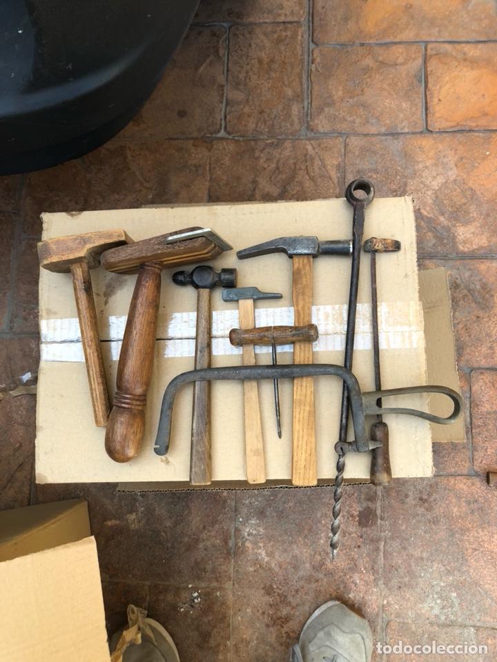 LOTE DE HERRAMIENTAS ANTIGUAS (Antigüedades - Técnicas - Herramientas Profesionales - Carpintería )