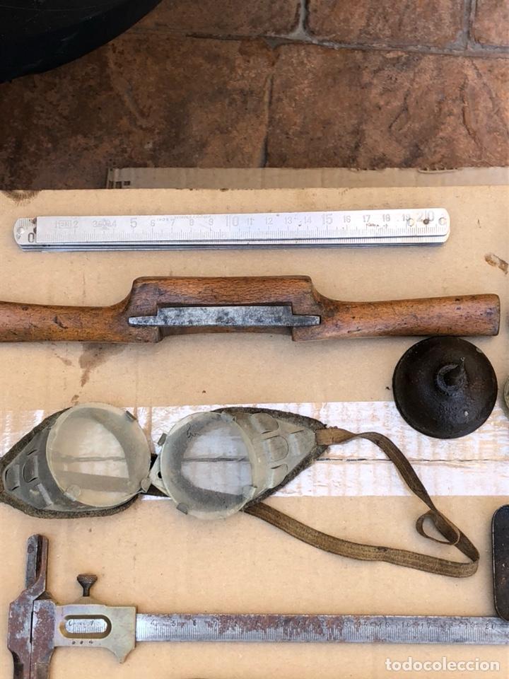 Antigüedades: Lote de herramientas variadas antiguas - Foto 2 - 211956783