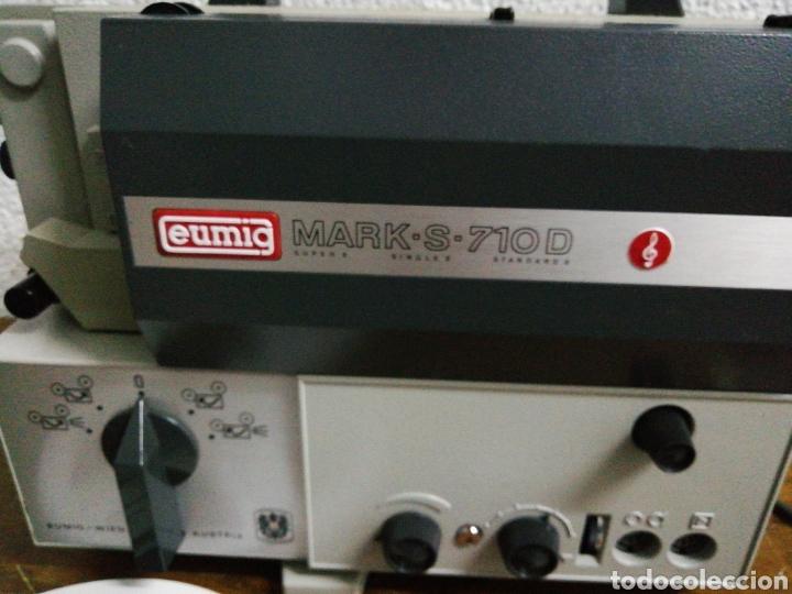 Antigüedades: Proyector 8mm eumig S 710 D - Foto 2 - 211986017