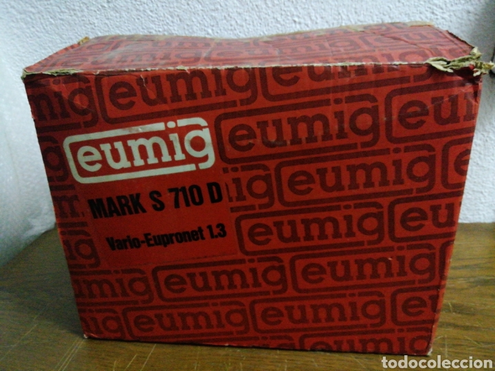 Antigüedades: Proyector 8mm eumig S 710 D - Foto 3 - 211986017