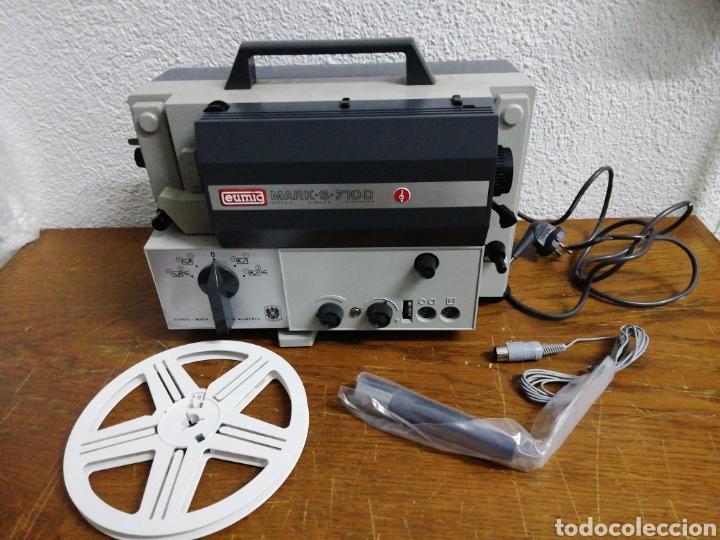 PROYECTOR 8MM EUMIG S 710 D (Antigüedades - Técnicas - Aparatos de Cine Antiguo - Proyectores Antiguos)