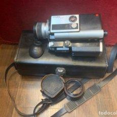 Antigüedades: MINOLTA AUTOPAK-8 SUPER 8 CÁMARA VIDEO CON SU FUNDA ORIGINAL Y COMPLEMENTOS (L1). Lote 212069206