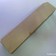 Antigüedades: PIEDRA AFILAR NAVAJA AFEITAR COTICULE COMBO NATURAL ANTIGUA. Lote 212126885