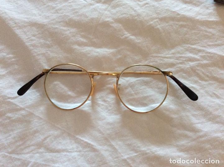 Antigüedades: Gafas antiguas con funda - Foto 2 - 204421986
