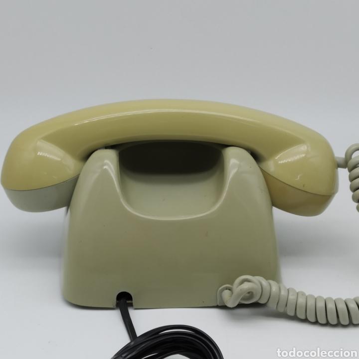 Teléfonos: Teléfono Heraldo gris de sobre mesa CITESA CTNE fabricado en Málaga - Foto 5 - 212197943