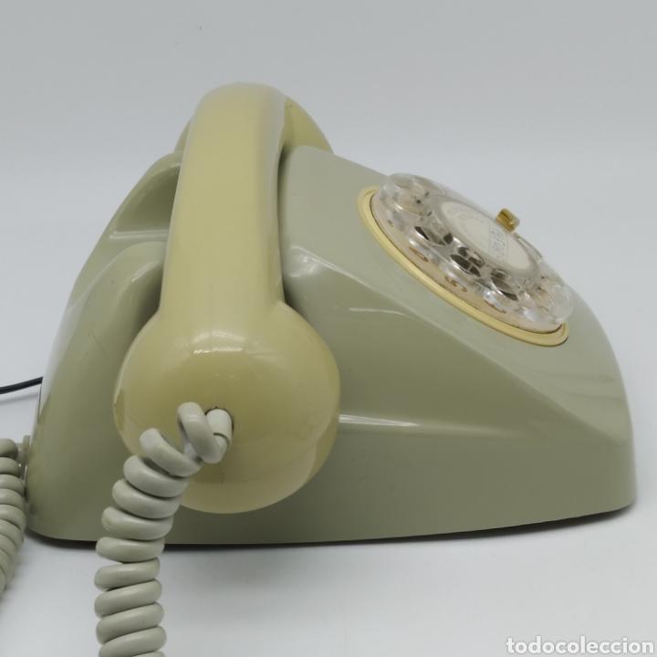 Teléfonos: Teléfono Heraldo gris de sobre mesa CITESA CTNE fabricado en Málaga - Foto 6 - 212197943