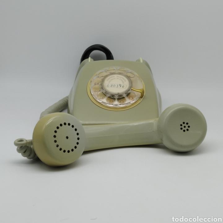 Teléfonos: Teléfono Heraldo gris de sobre mesa CITESA CTNE fabricado en Málaga - Foto 8 - 212197943