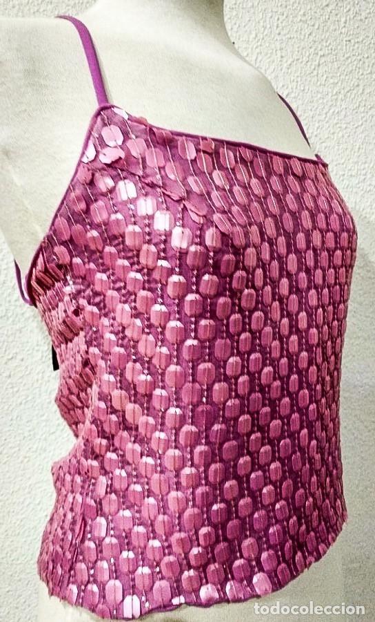 Antigüedades: Hermès - Top - Talla: UE 38 (IT 42 - ES/FR 38 - DE/NL 36) - Foto 2 - 212268078