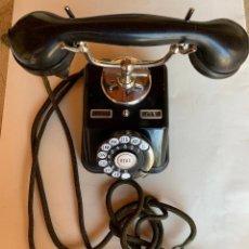 Teléfonos: TELEFONO ANTIGUO SOBREMESA . METAL Y BAQUELITA .JYPSK .. Lote 212297252