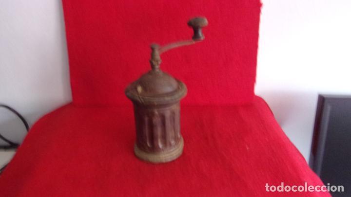 Antigüedades: bonito molinillo cafe redondo,buen estado - Foto 2 - 212357513