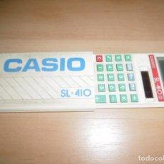 Antigüedades: CALCULADORA SOLAR CASIO SL-410. Lote 212416861