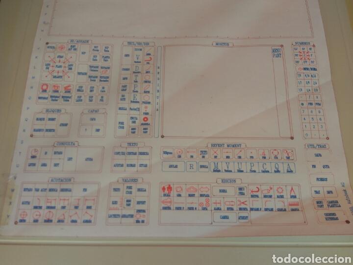 Antigüedades: TABLET DIGITALIZADORA CALCOMP DRAWINGBOARD CON ACCESORIOS AÑOS 80 - Foto 3 - 212479893