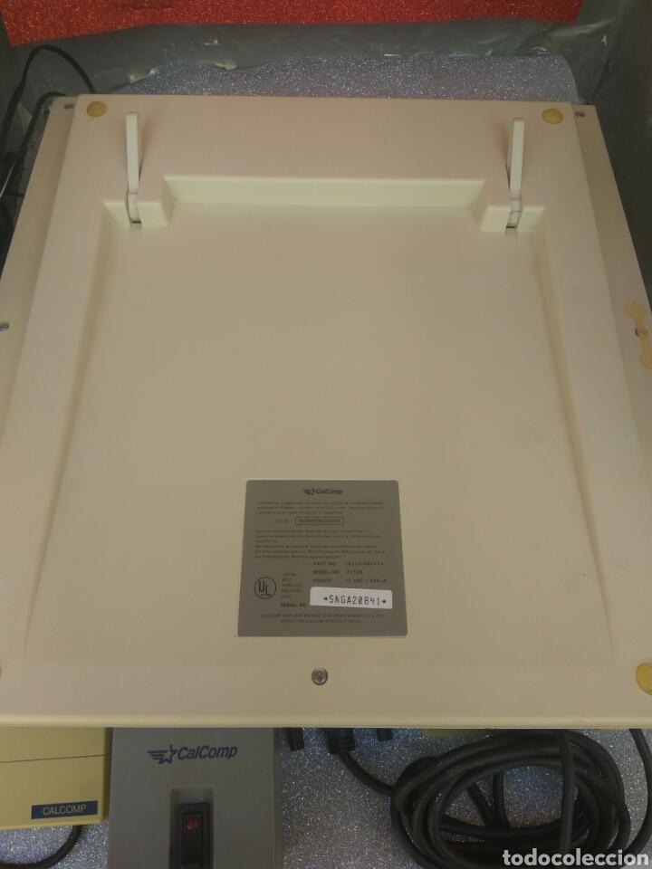 Antigüedades: TABLET DIGITALIZADORA CALCOMP DRAWINGBOARD CON ACCESORIOS AÑOS 80 - Foto 7 - 212479893
