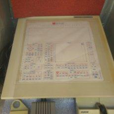Antigüedades: TABLET DIGITALIZADORA CALCOMP DRAWINGBOARD CON ACCESORIOS AÑOS 80. Lote 212479893
