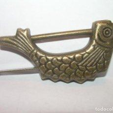 Antigüedades: BONITO CANDADO DE BRONCE CON SU LLAVE PARA ABRIR Y CERRAR...PERFECTO ESTADO DE CONSERVACION.. Lote 212483950
