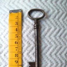 Antigüedades: ANTIGUA LLAVE DE HIERRO, 11 CM. Lote 212498122