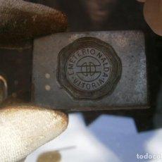 Antigüedades: MOLDE PUBLICITARIO DE IMPRENTA ÚNICO. AÑOS: 30/40. EMETERIO NALDA (VITORIA). Lote 212498871
