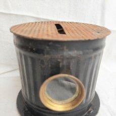 Antigüedades: QUEMADORES DE ALCOHOL S XIX. Lote 212540306