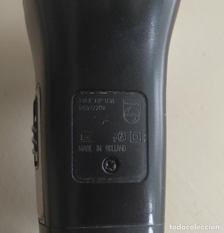 Antigüedades: Maquina de afeitar Philips type HP 1131. 115v/220v. Made in Holland. Funciona - Foto 9 - 212691005