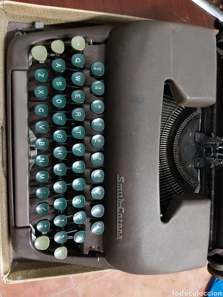 Antigüedades: Máquina de escribir SMITH-CORONA. - Foto 6 - 165305221