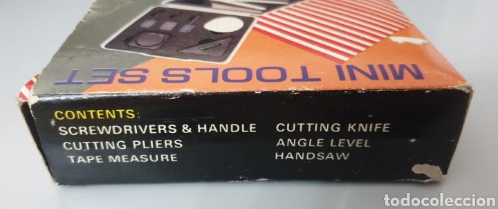 Antigüedades: MINI TOOLS SET VINTAGE 1980s - Foto 4 - 212732517