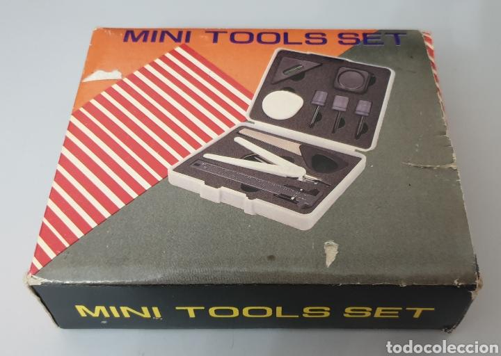 MINI TOOLS SET VINTAGE 1980S (Antigüedades - Técnicas - Varios)
