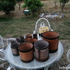 Antigüedades: MEDIDAS DE ÁRIDOS ANTIGUAS. Lote 212748486