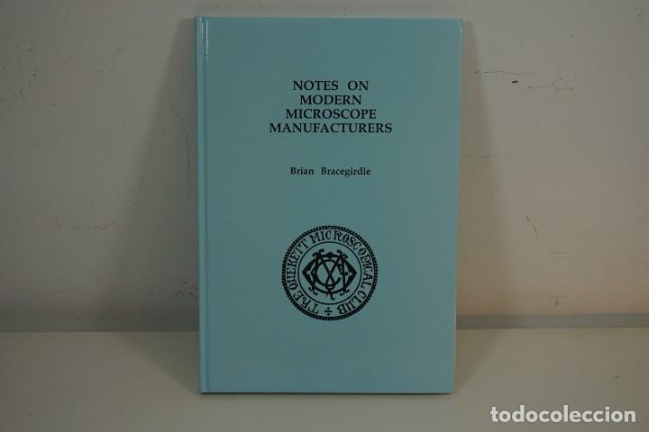 'MICROSCOPE MANUFACTURERS' DE BRIAN BRACEGIRDLE. COLECCIONISMO DE MICROSCOPIOS DESDE 1850 (Antigüedades - Técnicas - Instrumentos Ópticos - Microscopios Antiguos)