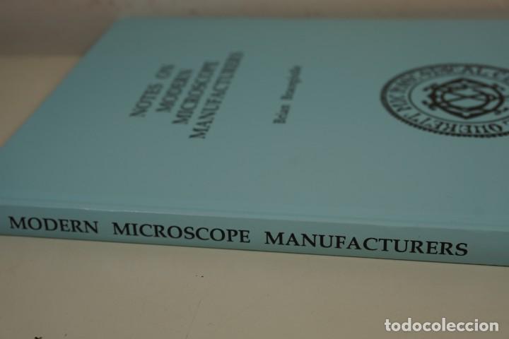 Antigüedades: MICROSCOPE MANUFACTURERS de Brian Bracegirdle. Coleccionismo de Microscopios desde 1850 - Foto 3 - 212753318