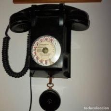 Teléfonos: ANTIGUO TELÉFONO DE PARED-- BAKELITA CON ESCUCHA ADICIONAL-PERFECTO ESTADO..AÑOS 50/65. Lote 212776180