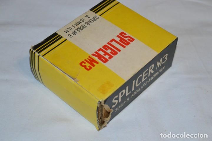 Antigüedades: VINTAGE - EMPALMADORA SPLICER M3 - Super 8 - Regular 8 & 16 Mm. Caja e instruciones ¡Mira fotos! - Foto 10 - 212796016