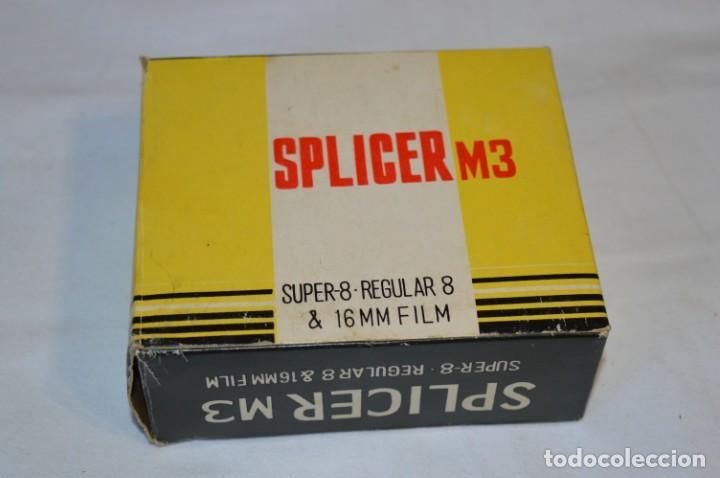 Antigüedades: VINTAGE - EMPALMADORA SPLICER M3 - Super 8 - Regular 8 & 16 Mm. Caja e instruciones ¡Mira fotos! - Foto 11 - 212796016