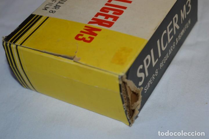 Antigüedades: VINTAGE - EMPALMADORA SPLICER M3 - Super 8 - Regular 8 & 16 Mm. Caja e instruciones ¡Mira fotos! - Foto 12 - 212796016
