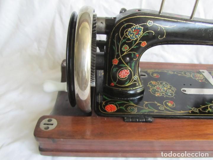 Antigüedades: Máquina de coser Vesta, alemana, modelo Vestacita Saxonia Type, principios siglo XX, funcionando - Foto 21 - 212908535