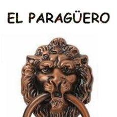 Antigüedades: CABEZA DE LEON PICAPORTE O LLAMADOR DE PUERTA - UNA VERDADERA PRECIOSIDAD DIFICIL DE ENCONTRAR. Lote 212948688