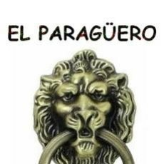 Antigüedades: CABEZA DE LEON PICAPORTE O LLAMADOR DE PUERTA - UNA VERDADERA PRECIOSIDAD DIFICIL DE ENCONTRAR. Lote 212948698