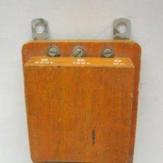 Antigüedades: ANTIGUO TIMBRE DE CAMPANA ELECTRICO MARCA UNIVERSAL. Lote 212973655