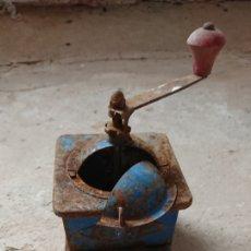 Antigüedades: ANTIGUO MOLINILLO DE CAFÉ, MARCA ELMA, AÑOS 50-60. Lote 213086623