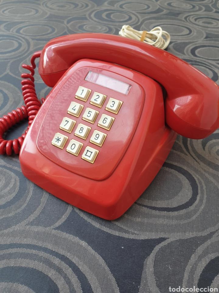 Teléfonos: TELÉFONO HERALDO ROJO. FUNCIONA CORRECTAMENTE. - Foto 2 - 213096700