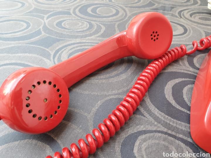 Teléfonos: TELÉFONO HERALDO ROJO. FUNCIONA CORRECTAMENTE. - Foto 4 - 213096700