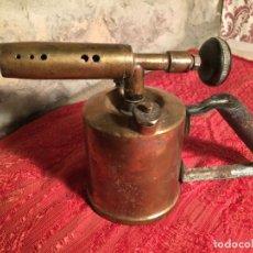 Antigüedades: ANTIGUO SOPLETE DE PETROLEO MARCA M-L- PARIS BTEE SGDG AÑOS 20-30. Lote 213118433