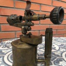 Antigüedades: SOPLETE SOLDADOR LAMPARILLA A SERROT. USMO. Lote 213125972
