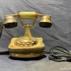 Teléfonos: TELEFONO ESTILO ANTIGUO BASE CUERPO ONIX 22X25X15CMS. Lote 213164053