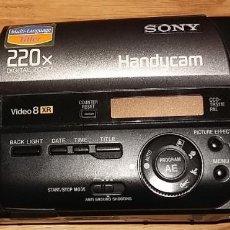 Antigüedades: VIDEOCÁMARA SONY HANDYCAM 220X DIGITAL ZOOM CON NIGHTSHOT Y TODOS SUS ACCESORIOS (LEER DESCRIPCIÓN). Lote 213203638