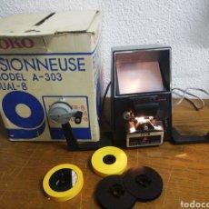 Antigüedades: GOKO VISIONNEUSE MODRL A-303 DUAL 8. Lote 213230753